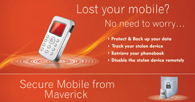 Anti-Theft Software for Mobile Phones - Maverick Secure Mobile (MSM) 1