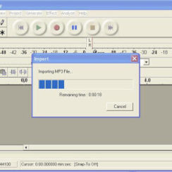 Edit Audio Files and Create Your Own Ringtone with AUDACITY 1