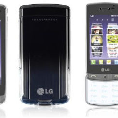 LG Crystal GD900 - World's First Transparent Touchpad Phone! 8