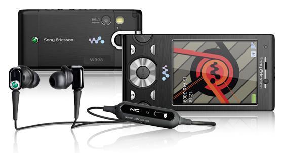 Sony Ericsson W995 multimedia phone