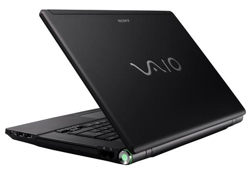 Sony Vaio BZ16GN Laptop overview image