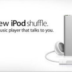 iPod Shuffle - The First Ever talking music player 3