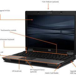 HP Compaq 6530B Notebook PC - Business Traveller 1