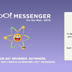 Yahoo! Messenger For The Web 4