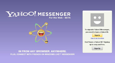 Yahoo! Messenger For The Web 1
