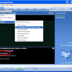 How To Enable Crossfading in Windows Media Player 10 3