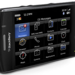 BlackBerry Storm2 9550 - The New Touch Screen Smartphone from BlackBerry 3