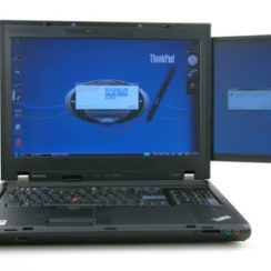 Lenovo ThinkPad W700ds Dual Screen Laptop 3