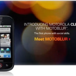 Motorola CLIQ with MOTOBLUR Overview 2