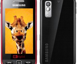 Samsung I6220 Star TV Overview 1