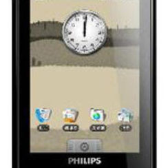 Philips V808 - the new Android powered touchscreen phone 1