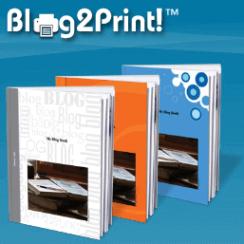 Create Your Blog Book @Blog2Print 3