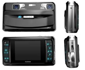 Fujifilm FinePix Real 3D W1 Digital Camera