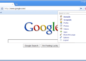 Cool Orkut Chrome Extension for Unviewed Updates 1