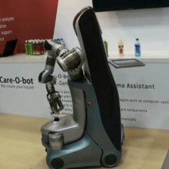 Care-O-bot 3 at IREX 2009