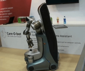 Care-O-bot 3 at IREX 2009