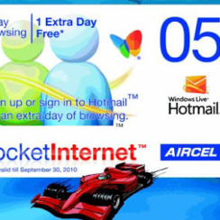 Enjoy 1 Day Browsing of 20MB with Aircel New Pocket Internet Card of Rs 5 1