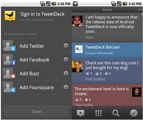 TweekDeck App screenshot