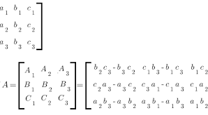 Define Adjoint of a Matrix 1