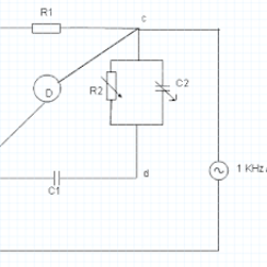 Finding Value of Capcitance and Dissipation Factor of a Given Capacitor by Schering Bridge 2