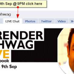 Chat LIVE with Virender Sehwag on Facebook 4