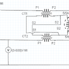 Measurement of 3-Phase Power Using 2 CTs and 1 Wattmeter 4