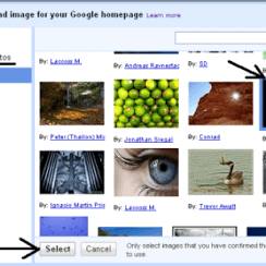 How to Add Your Own Background Image to Your Google Homepage 3