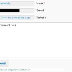 Troubleshooting CommentLuv No Last Blog Posts to Return Error 1