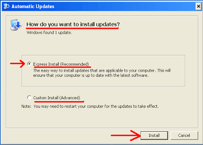 Configure Automatic Updates to Download and Install Updates for Your Computer 1