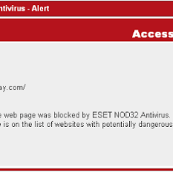 ESET NOD32 Antivirus Blocks Ripway 2