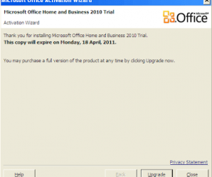 Daily Screenshots - Microsoft Office Home and Business 2010 Trial Activation Wizard 2