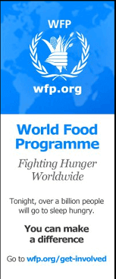 Take World Food Programme Hunger Crisis Quiz - Feed a Child 1
