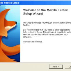 Mozilla Firefox 4 Setup Wizard - Snapshots 2