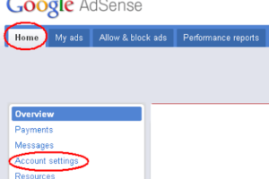To Enable Payments Enter Your Google AdSense Personal Identification Number (PIN) 3