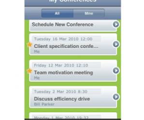 Powwownow – The Brand New Conference Call iPhone App 1