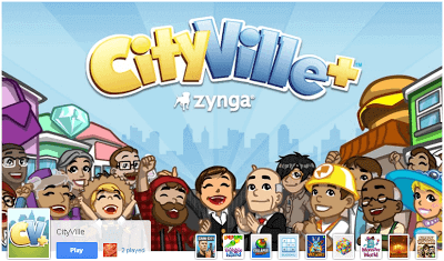 Play CityVille on Google+ Games 1