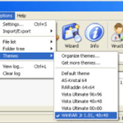 All About WinRAR archiver and How to Install WinRAR Themes 3