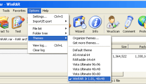 All About WinRAR archiver and How to Install WinRAR Themes 4