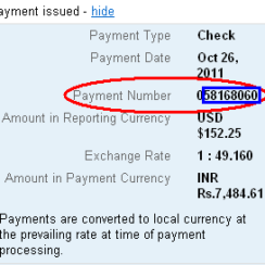 How to Track the Status of Your Google AdSense Check Sent on Blue Dart in India 7