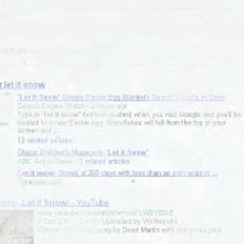 Let it Snow Easter Egg on Google Search 1