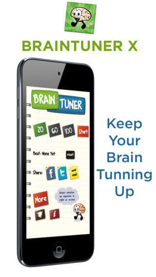 Keep your brain tunning up - play Braintuner