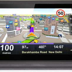 All in One CarPad 5 GPS Car Navigation Device 2