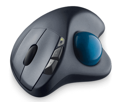 Best Logitech Mouse - Wireless Trackball M570 1