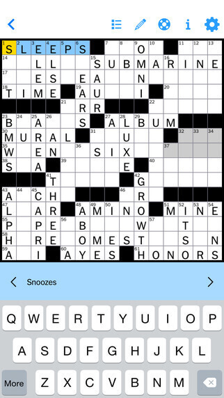 NYTimes Crossword - Daily Word Puzzle Game By The New York Times Company