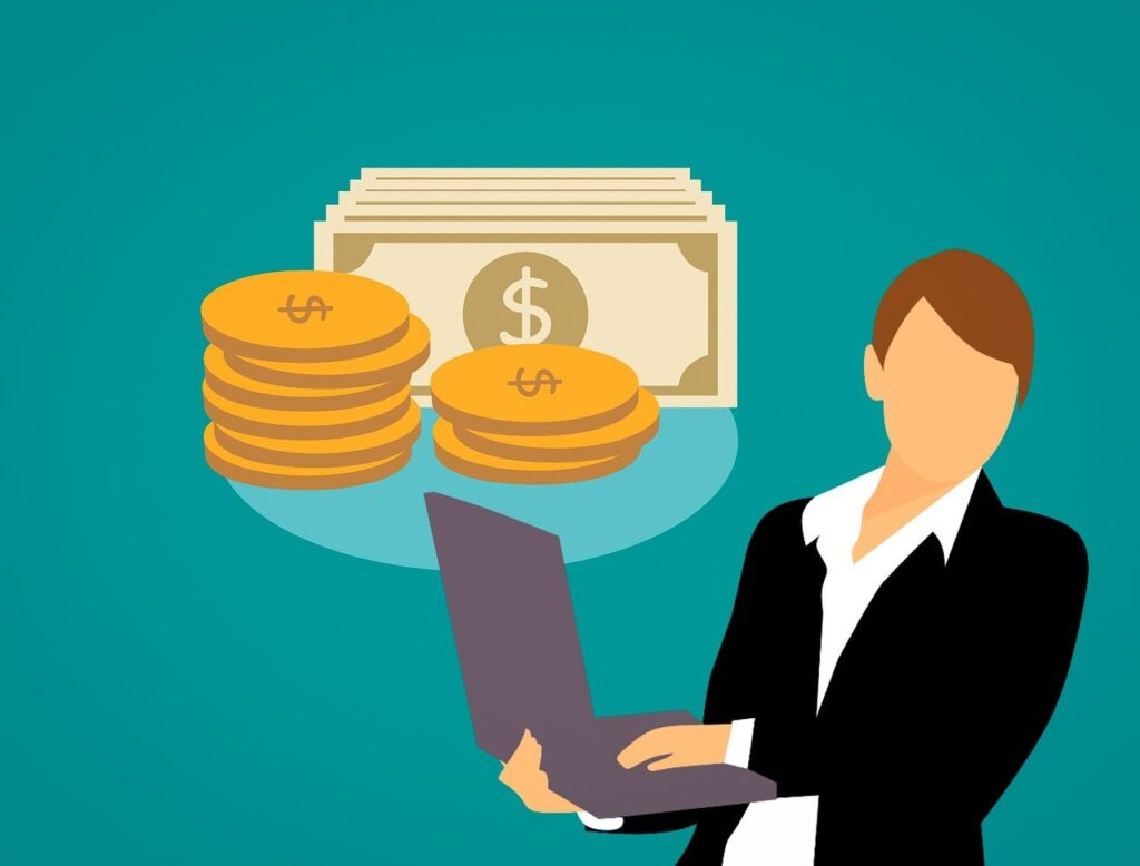 Business Woman, Ecommerce Affiliate Marketing, Online Selling, Earn Online From Home