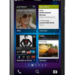 BlackBerry Z10 - First Phone to Run BB10 OS 12