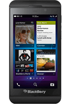BlackBerry Z10 - First Phone to Run BB10 OS 2