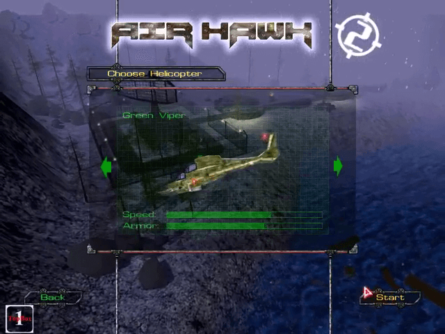 Air Hawk Game. The ultimate helicopter game. Shooting game