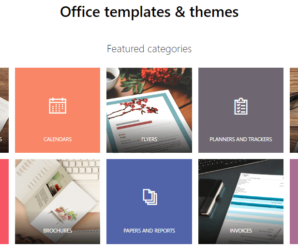 Microsoft Office templates & themes