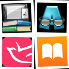 Top Free eBook Reader Apps: AlReader any text book reader, Bookari Free Ebook Reader, PlayEpub Book Reader, iBooks Discover books